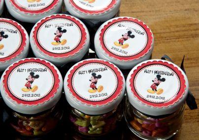 minik kavanoz - mickey mouse