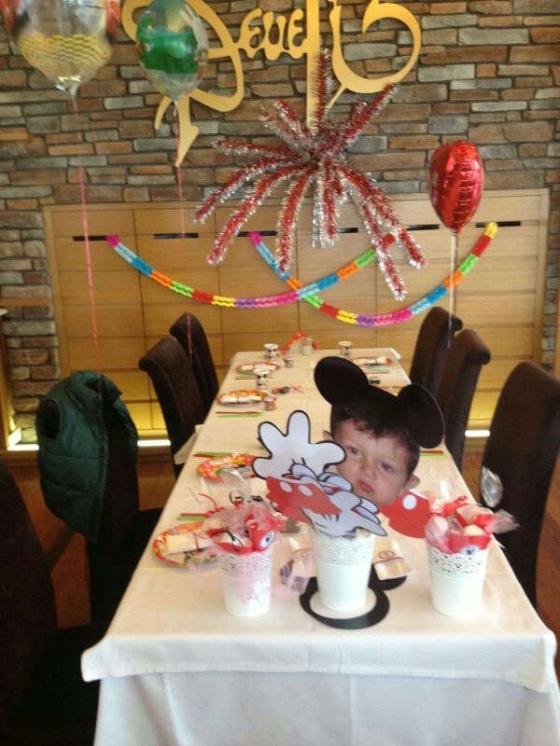 doğum günü masa düzeni süsleme