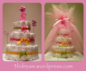Diaper Cake  - Bebek Bezi Pastası