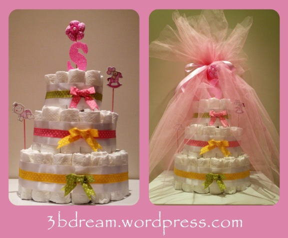 selin diaper cake